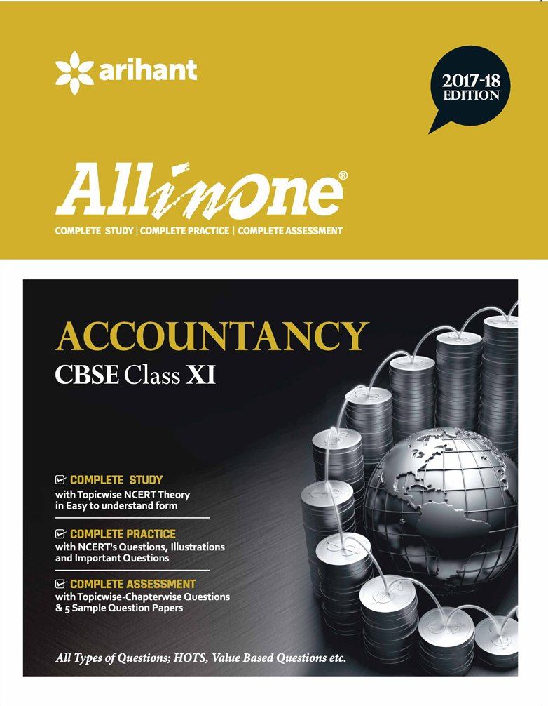 ALL IN ONE ACCOUNTANCY CBSE CLASS-11 (2017-2018)
