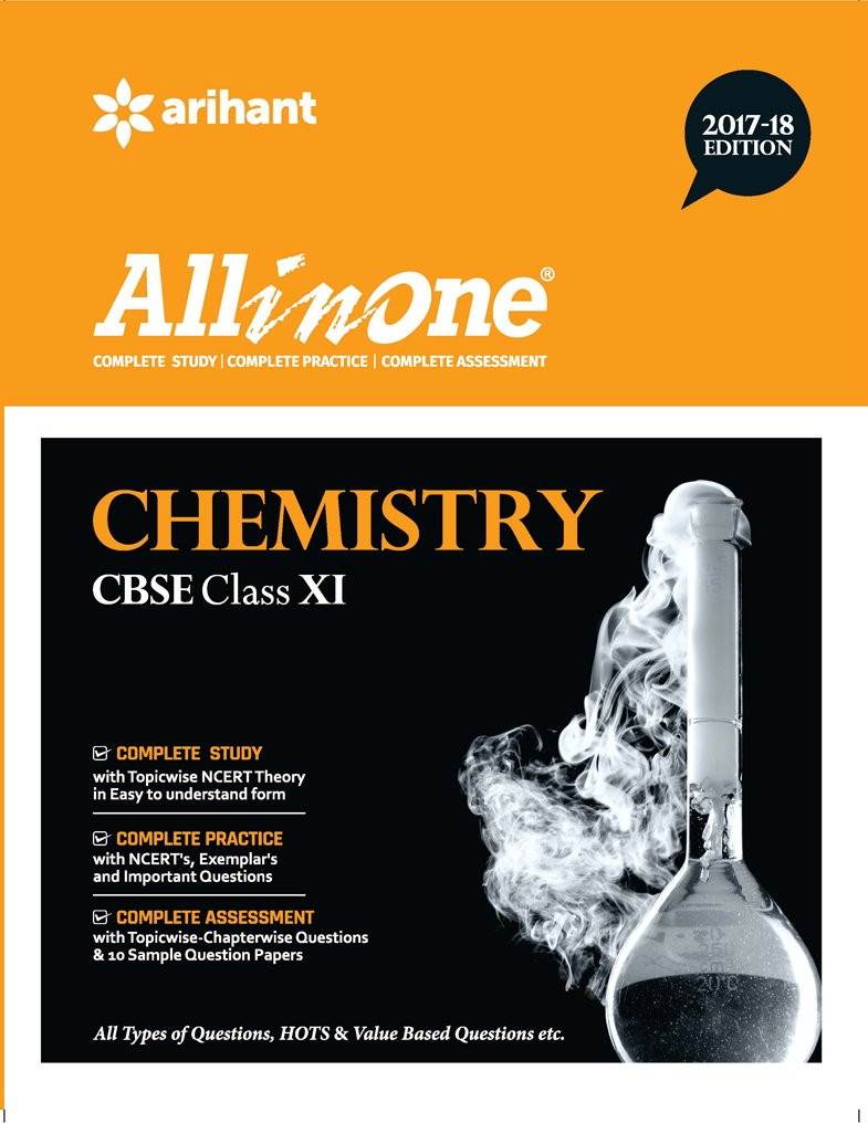 ALL IN ONE CHEMISTRY CBSE CLASS-11 (2017-2018)