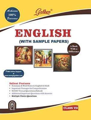 GOLDEN ENGLISH CLASS-7 (WITH SAMPLE PAPERS)
