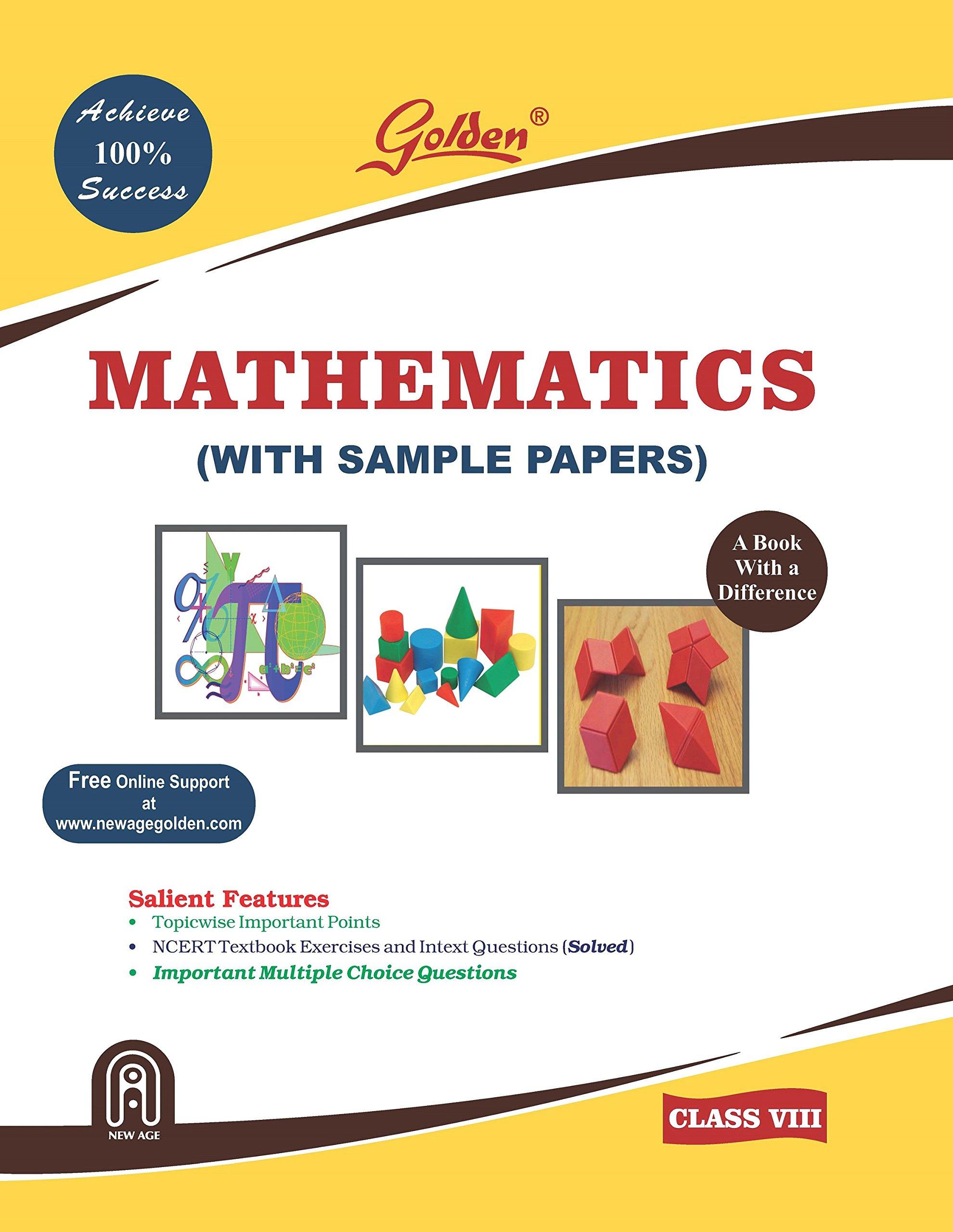 GOLDEN MATHEMATICS CLASS-8 (WITH SAMPLE PAPERS) - Horizon Books ...